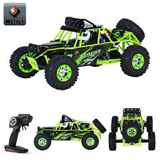 WLtoys 12428 USB Car 1:12 Scale 2.4Gh Remote control 4WD Off-Road RC Buggy Hobby