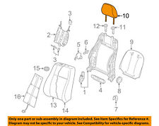AUDI OEM 15-16 A3 Front Seat-Headrest Head Rest 8V0881901M38M