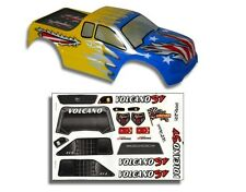 Redcat Racing 1/10 Truck Body Blue and Yellow for Volcano Part 88020BY