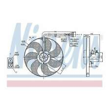 Fits VW Polo 6KV2 64 1,9 D Genuine Nissens Engine Cooling Radiator Fan