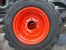 25850x14 Carlisle Loader Skid Steer Rim Guard Tires Withwheel