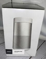 Bose SoundLink Revolve Bluetooth Speaker Water Resistant Lux Silver #739523-1310