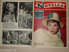 Novella=1957/36=ELSA MARTINELLI=MISS ITALIA=INES MARINI=RASCEL=KATHARINE HEPBURN