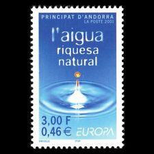 Andorra 2001 - Europa Stamp Water Nature - Sc 536 MNH