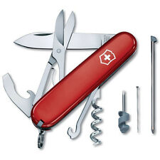 Victorinox Swiss Army Compact 91MM 15-Function Swiss Army Knife - Red