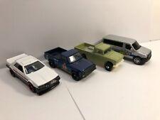 1/64 Hot Wheels Lot of 4 JDM Cars (Mazda REPU, Skyline R30, Junior, Nissan Van)