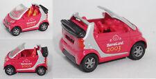 Siku Super 1042 Smart Fortwo convertible Passion, børnelund., aprox. 1:50, werbemodell