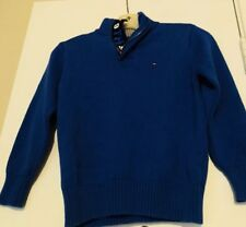 Tommy Hilfiger Boys Sweater Cotton Long Sleeves Kids Size 6