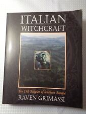 ITALIAN WITCHCRAFT book Raven Grimassi Soft cover Old Religion S Europe