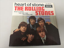 """ROLLING STONES """"HEART OF STONE"""" FR EP 1965/69 (RARE RE) EX+/EX+"""