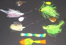 Manufacturer's Mix 1/4-3/4 Spinner Bait Package (Lot of 4+2 Extra Skirts-SB4)