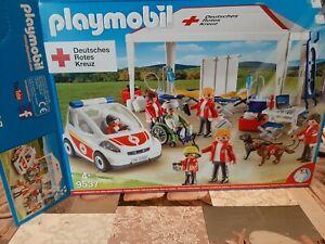 Playmobil Deutsches Rotes Kreuz 9537 Versorgungszelt mit Notarzt
