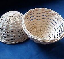 3Pcs Wicker Bird Nest Basket For Nesting Small Diamond dove