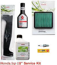 "Honda Izy 18"" HRG465 Service Kit-Blade,Oil,Air Filter,Spark Plug,Fuel Stabilzer"