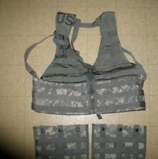 ACU MOLLE LOAD BEARING VEST WITH 2 NEW IN PACKAGE THREE MAG POUCHES