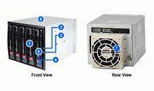 "SUPERMICRO CSE-M35T-1B 5 x 3.5"" Hot-Swap SAS SATA Drive Enclosure with Screws"