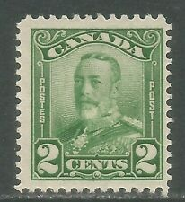 Canada 1928-29 King George V 2c green (150) MH
