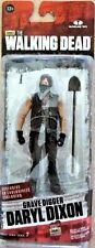 "THE WALKING DEAD EXCLUSIVE DARYL DIXON GRAVE DIGGER 5"" ACTION FIGURE SERIES 7 W"