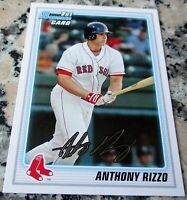 ANTHONY RIZZO 2010 Bowman Rookie Card RC Chicago Cubs 2016 World Series Champs