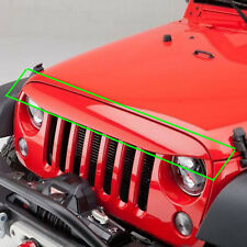 Undercover Eye Brow Nighthawk Angry Grille Deflector For 07-17 Jeep Wrangler JK