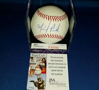 MICHAEL PINEDA NY YANKEES AUTHOGARPED SIGNED ROML BASEBALL AUTH BY JSA P97002