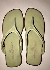 d77525f7e68fd9 Tommy Bahama Tahini Nubuck Sandals Womens Size 6