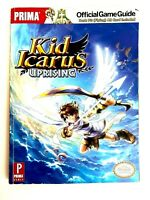 Nintendo DS Prima Games Kid Icarus Uprising Official Strategy Guide No AR Cards