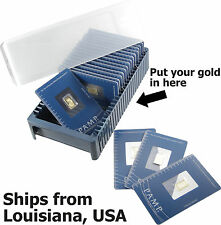 Pamp Suisse Storage Box for 25 Bars 1 gram to 1 oz Gold Silver Platinum Assay