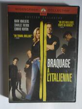BRAQUAGE A L'ITALIENNE - DVD - Mark Wahlberg, Charlize Theron, Edward Norton