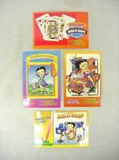 set of 4 betty boop post cards las vegas nevada mgm grand