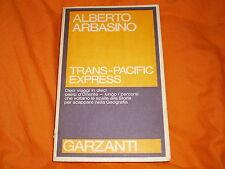 alberto arbasino trans-pacific express garzanti 1981