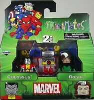 Marvel Figurine Colossus et Rogue Minimates Diamond Select