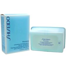 Shiseido Pureness Refreshing Cleansing Sheets Oil-Free Alcohol-Free ~ 30 Sheets