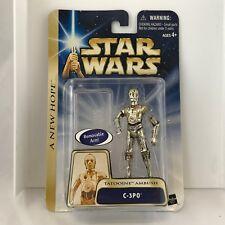 Star Wars 2003 C-3PO Tatooine Ambush A New Hope Collection 1 #21  NIP