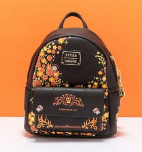 Official Loungefly Disney Pixar Coco Remember Me Mini Backpack