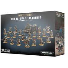 Battleforce Chaos Space Marines Vendetta Warband Games Workshop Warhammer CSM