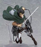 Attack on Titan Levi figma Shingeki no Kyojin Stylish Action 213# PVC Figure NB