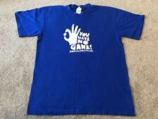 "And one And1 Basketball NBA Trash remix ""You Have No Game"" Large Used"