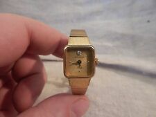 Vintage Wittnauer Ladies Watch Gold Tone