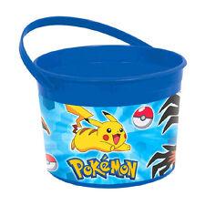 Pokemon Pikachu & Friends Birthday Party Plastic Treat Favor Bucket Container