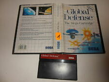 Sega Master System  Global Defense (1)