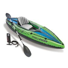 Intex Challenger Kayak K1 Series Boat With Paddle Brand New FREE SHIPPING