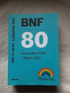 British National Formulary BNF 80 September 2020 - March 2021 Paperback