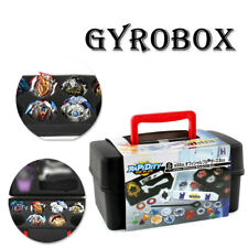 Portable Beyblade Burst Gyro and Launcher Receiving Box Storage Case with Foam