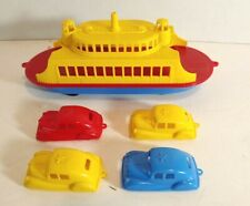 Pyro Plastic Ferry Boat with 4 Original Cars