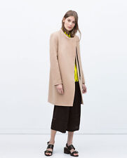 Zara Wool Patternless Coats & Jackets for Women