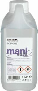 STRICTLY PROFESSIONAL ACETONE NAIL POLISH REMOVER 1000 ML