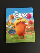 Dr. Seuss' The Lorax - Limited Edition Steelbook [Blu-ray + DVD] Used Good.
