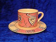 Kaffeetasse mit Untertasse von Waechtersbach Pasiega
