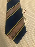 LINEA Domizia striped tie suit men's New with tag formal 55""